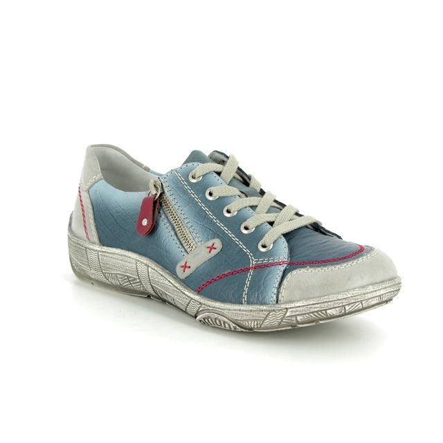 Remonte Lacing Shoes - Denim multi - D3808-12 LUVLACE