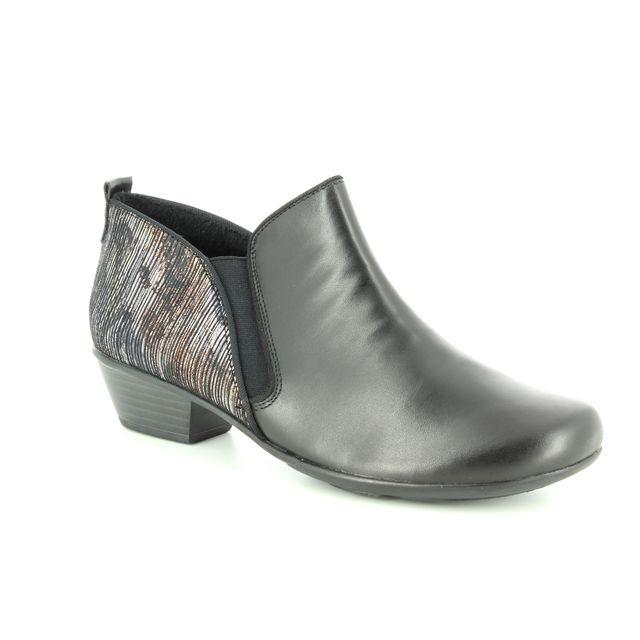 Remonte Shoe-boots - Black multi - D7364-02 MILLTRUD
