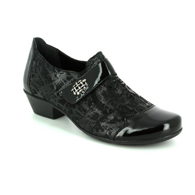 Remonte Shoe-boots - Black patent - D7333-02 MILLUX 72