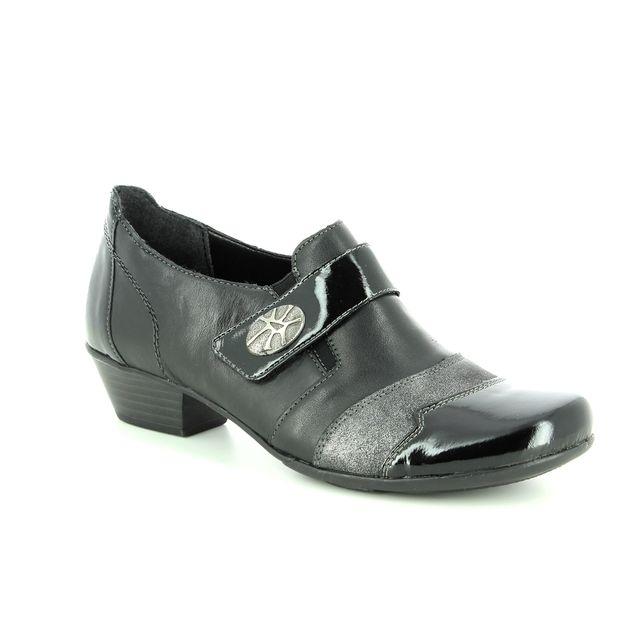 Remonte Shoe-boots - Black patent - D7333-01 MILLUX