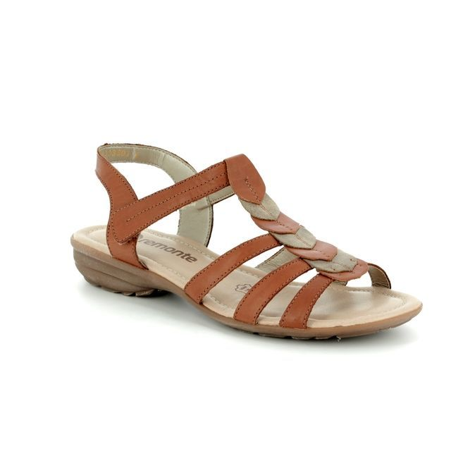 Remonte Sandals - Tan multi - R3658-22 ODLEA