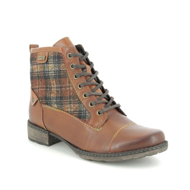 Remonte Ankle Boots - Tan Leather  - D4354-24 PEETART TEX