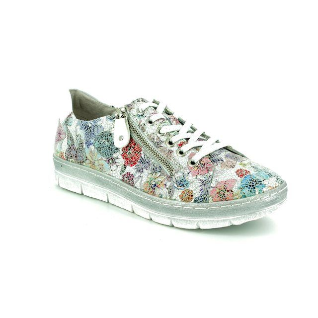 Remonte Lacing Shoes - Floral print - D5800-93 RAVENNA