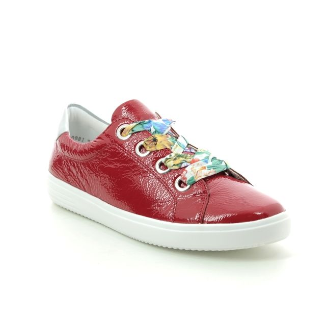 Remonte Lacing Shoes - Red patent - D1400-33 SOFTY