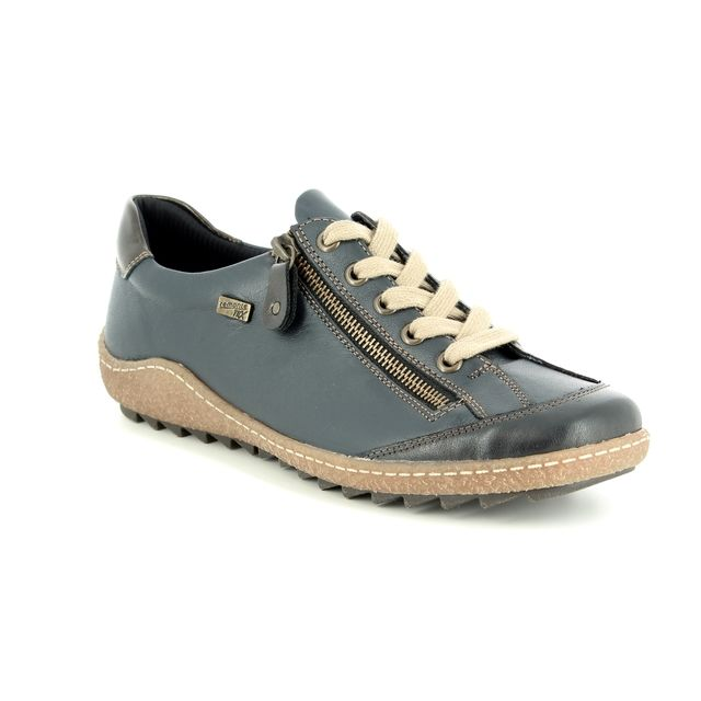 Remonte Lacing Shoes - Navy - R4703-14 ZIGGY TEX