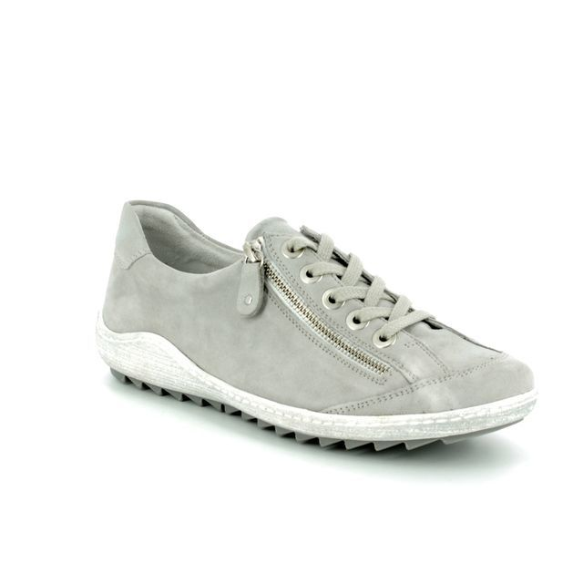 Remonte Lacing Shoes - Light Grey - R1402-42 ZIGZIP 81