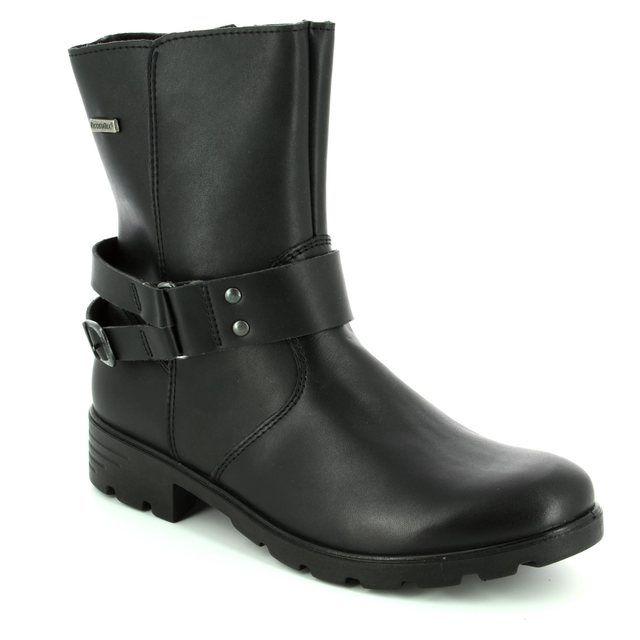 Ricosta Boots - Black - 72219/099 ELLA TEX