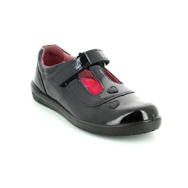 Ricosta Everyday Shoes - Black patent - 86259/093 LIZA
