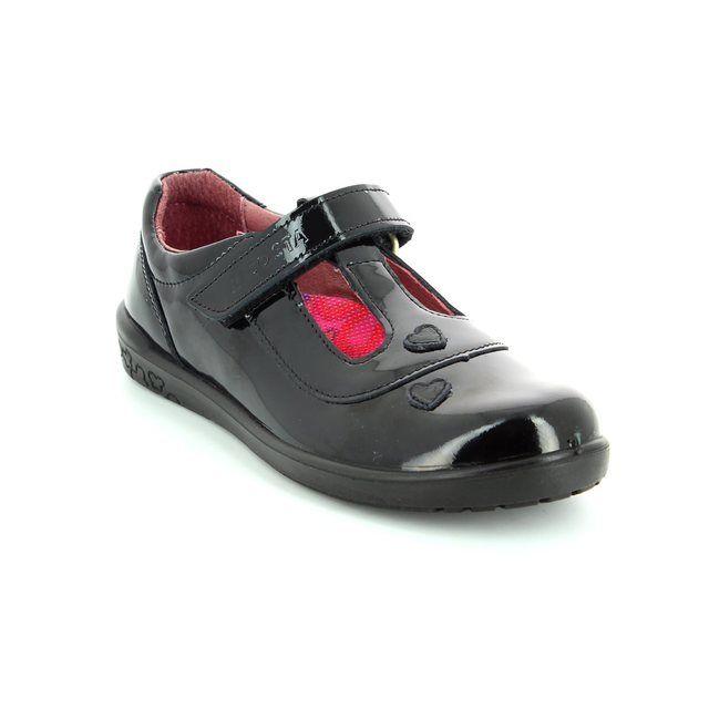 Ricosta Liza 86259-093 Black patent everyday shoes