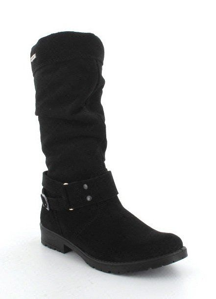 Ricosta Riana 42 78253-090 Black suede boots
