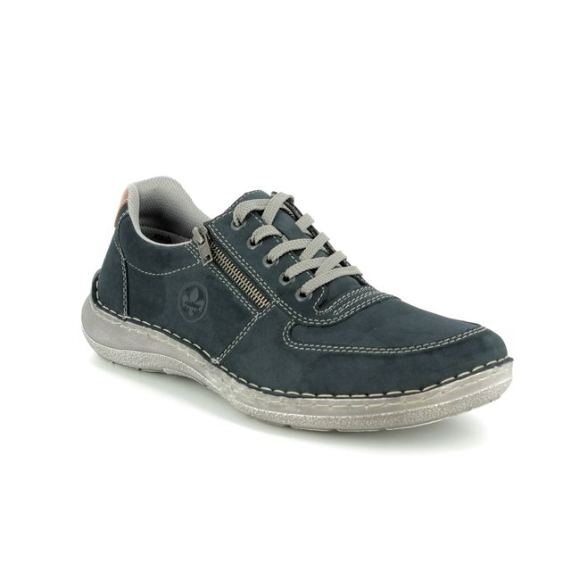 Rieker Casual Shoes - Navy - 03030-14 NAMUR
