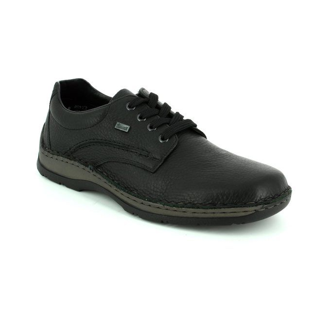 Rieker Casual Shoes - Black - 05310-00 ANTONLACE TEX