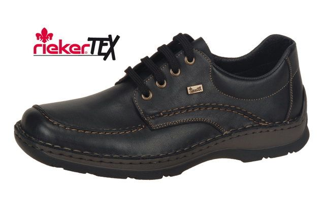 Rieker 05312-00 Black formal shoes