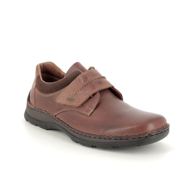 Rieker Casual Shoes - Brown leather - 05358-25 ANTONVEL