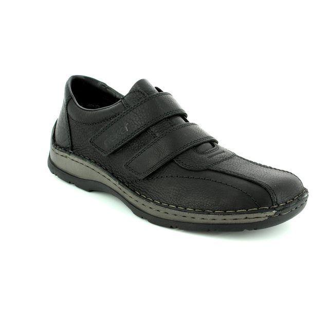 Rieker 05374-00 Black casual shoes