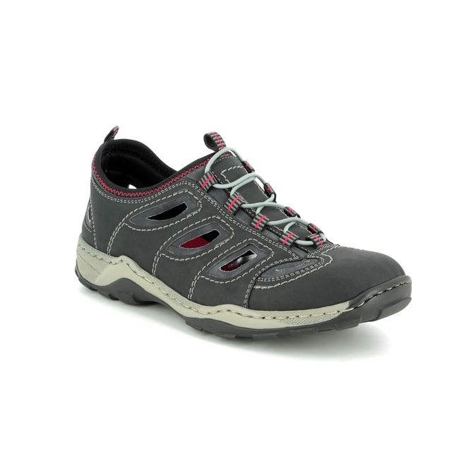 Rieker Trainers - Grey - 08065-00 SCUBER