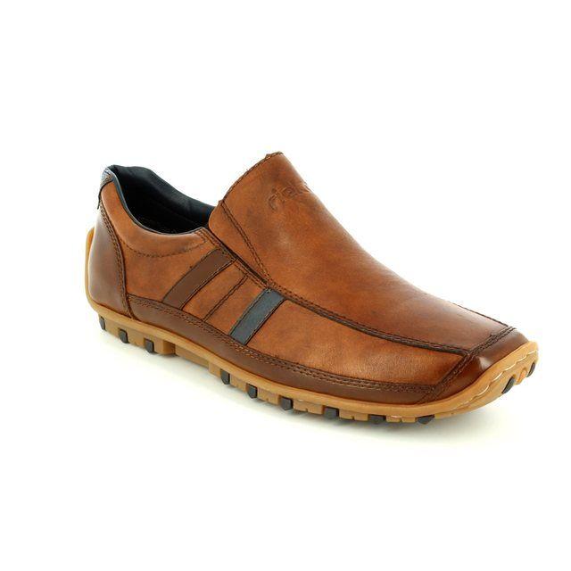 Rieker 08972-25 Tan casual shoes
