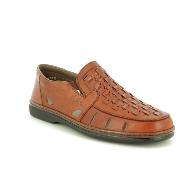 Rieker Casual Shoes - Tan - 12389-24 STEFAN