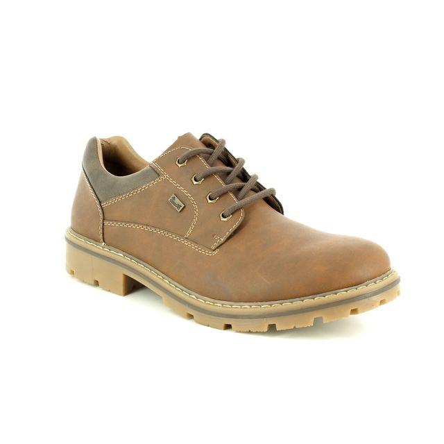 Rieker Casual Shoes - Tan - 14020-26 MITCH TEX