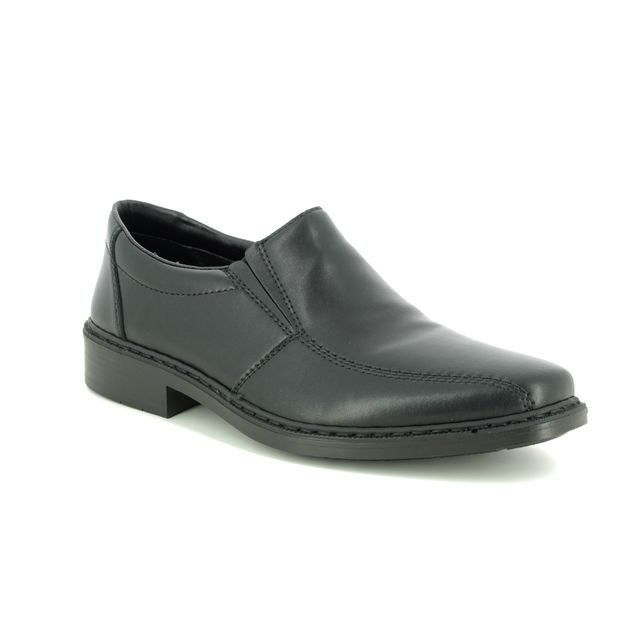 Rieker Slip-on Shoes - Black - 14172-00 EDINSLIP