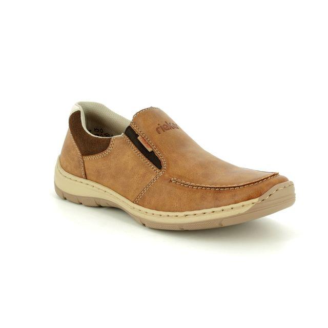 Rieker Casual Shoes - Tan - 15260-24 VIRAGE