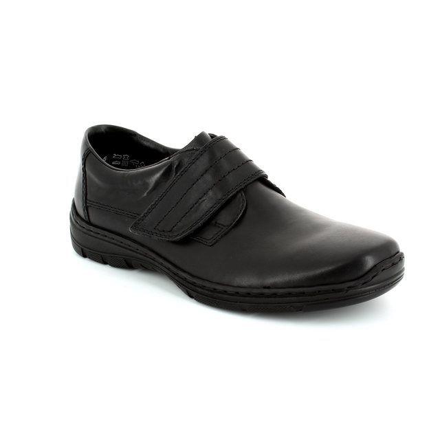 Rieker 15262-01 Black casual shoes