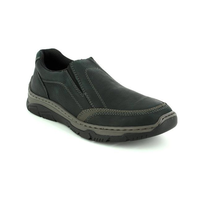Rieker Casual Shoes - Black grey - 16963-00 PERSIST