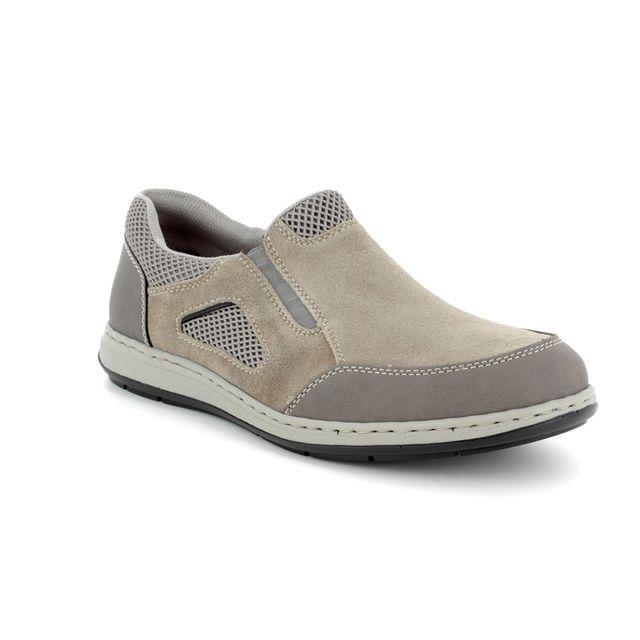 Rieker Casual Shoes - Taupe multi - 17354-45 BASTIA