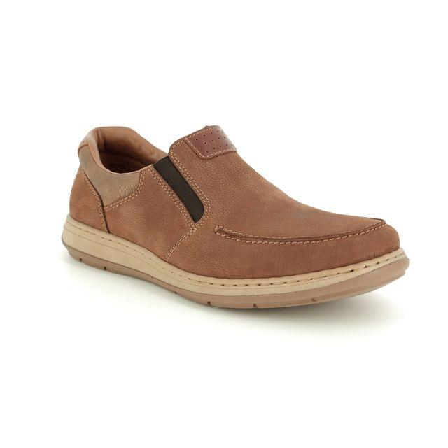Rieker Casual Shoes - Tan - 17360-21 BASTION