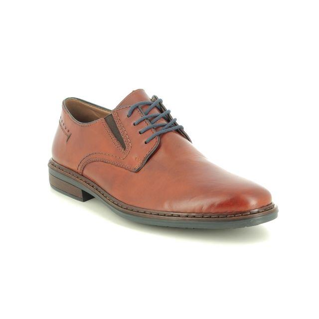 Rieker Formal Shoes - Tan Leather - 17611-24 CLERKADAM