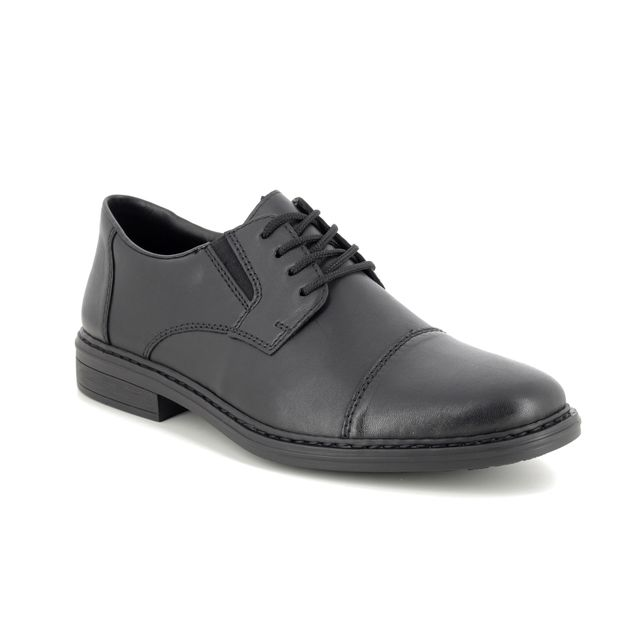 Rieker Formal Shoes - Black leather - 17642-00 CLERK