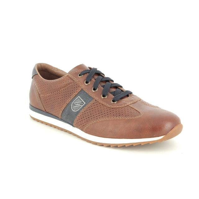 Rieker Casual Shoes - Tan Navy - 19325-25 PRADAPER