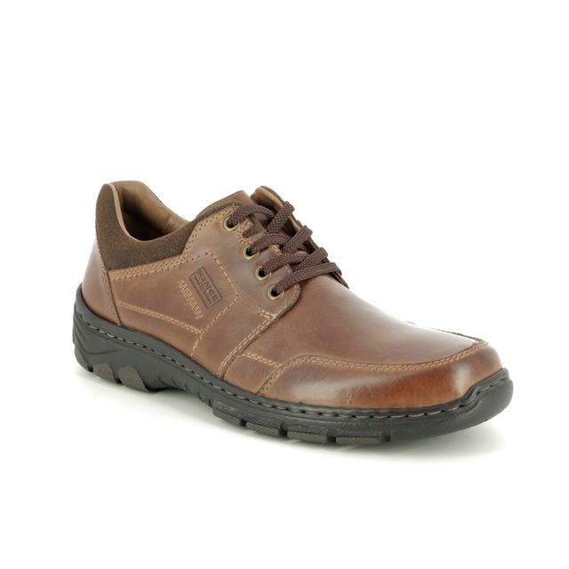 Rieker Casual Shoes - Brown leather - 19911-25 RAMON 95