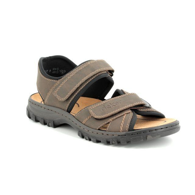 Rieker Sandals - Brown - 25051-27 CHRISAN