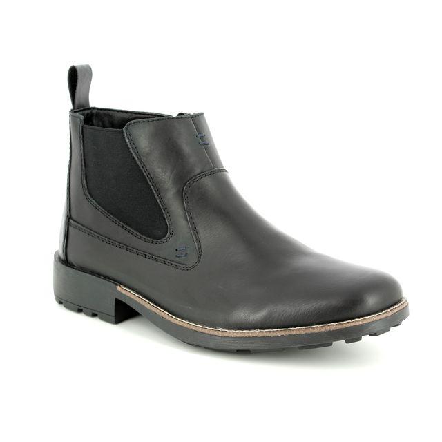 Rieker Boots - Black - 36062-00 RONNIE