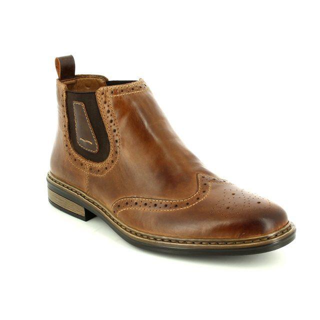 Rieker Boots - Brown - 37681-25 DONBRO
