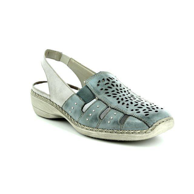 Rieker Comfort Shoes - Denim blue - 41390-10 DORISLING