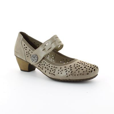 Rieker 41727-42 Taupe multi comfort shoes