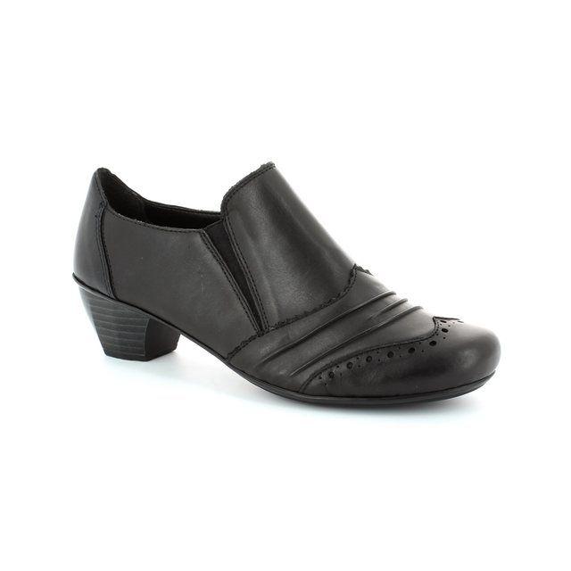 Rieker 41730-00 Black shoe-boots