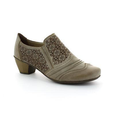 Rieker 41735-62 Taupe shoe-boots