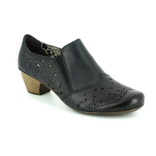 Rieker 41757-14 Navy shoe-boots