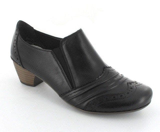 Rieker 41763-00 Black shoe-boots
