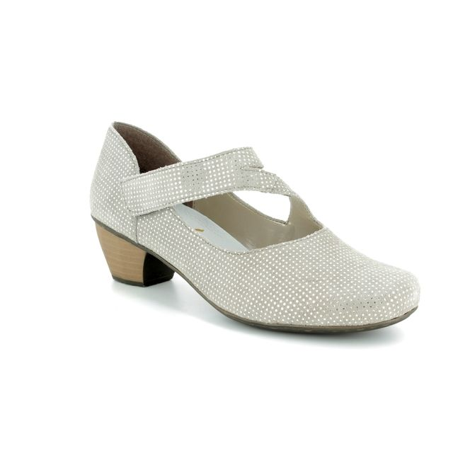 Rieker Heeled Shoes - Light taupe multi - 41793-42 SARMILL