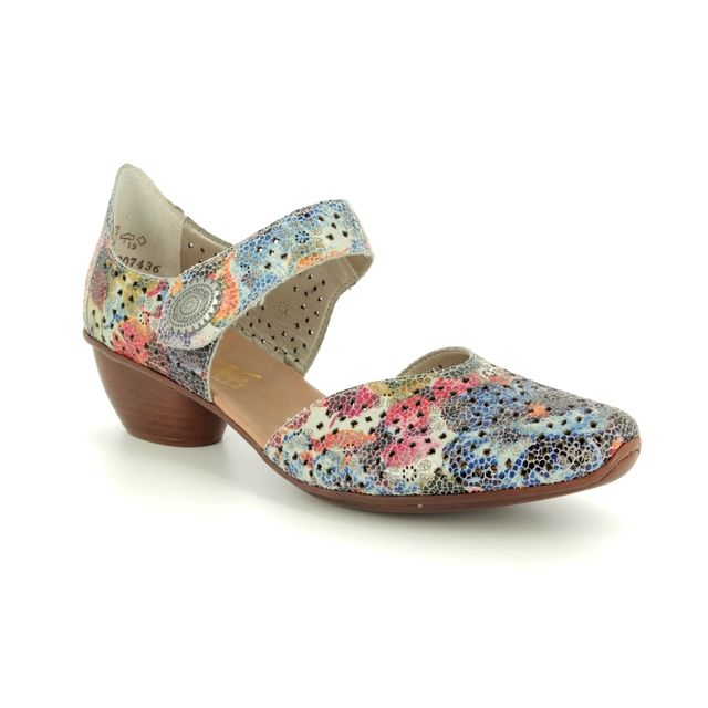 Rieker Comfort Shoes - Multi Coloured - 43711-90 MIROPI