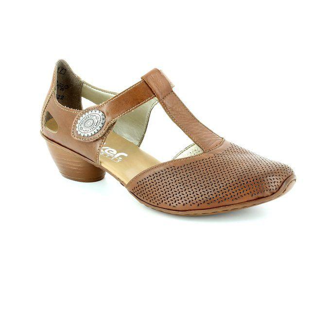 Rieker 43730-22 Tan comfort shoes