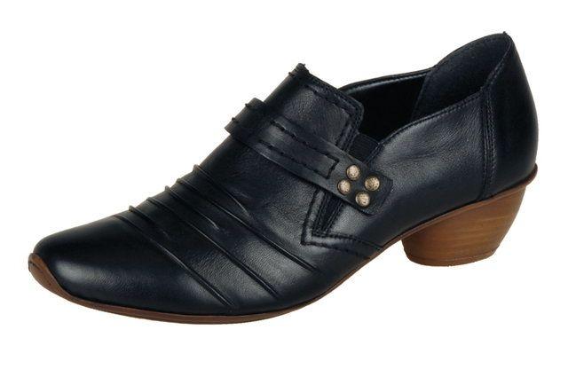 Rieker 43774-00 Black lacing shoes