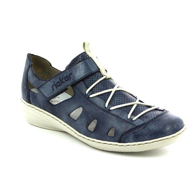 Rieker Trainers - Denim blue - 43855-14 SERBIA