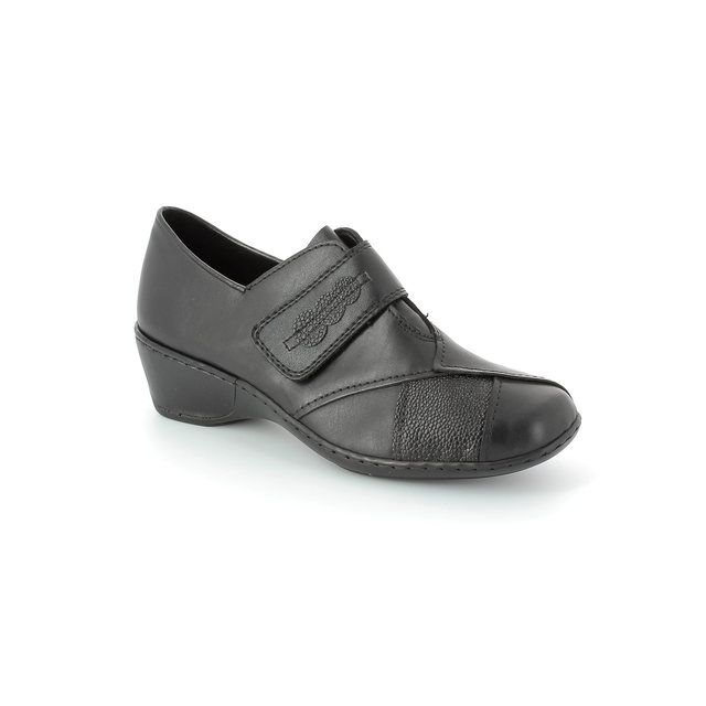 Rieker 47152-00 Black comfort shoes