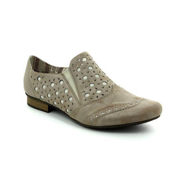 Rieker Comfort Shoes - Gold - 51952-90 NEWBRO