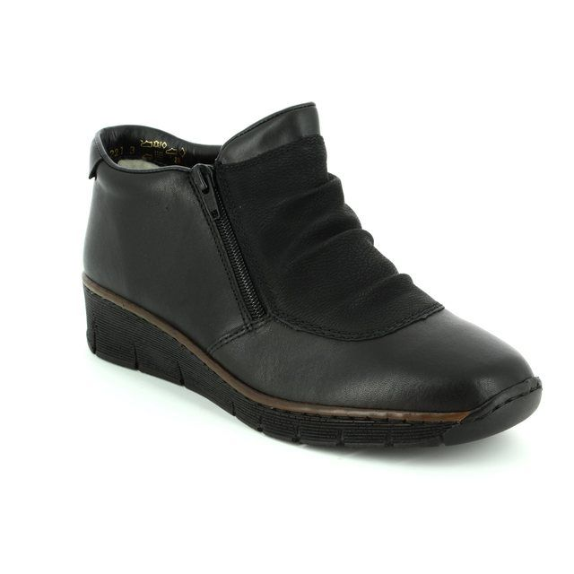 Rieker Ankle Boots - Black - 53742-00 BOCCITWIN